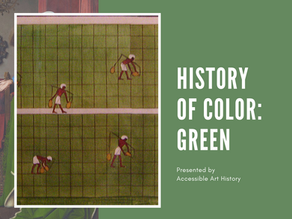 History of Color: Green