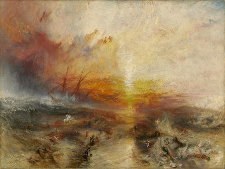 Podcast Episode 33: The Slave Ship by JMW Turner