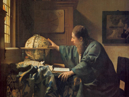 Podcast Episode 25: The Astronomer by Johannes Vermeer