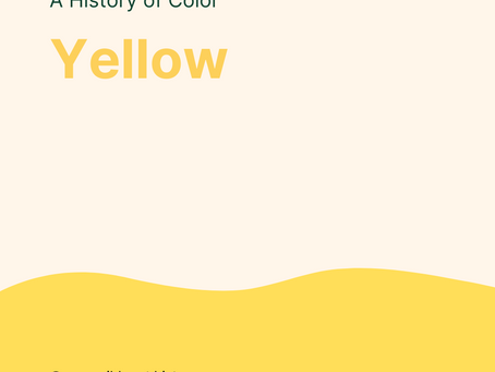 History of Color: Yellow