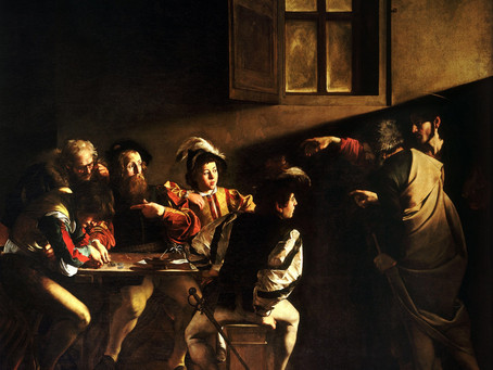 Podcast Episode 21: The Calling of St. Matthew by Caravaggio