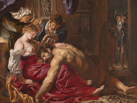 Podcast Episode 22: Samson and Delilah by Peter Paul Rubens