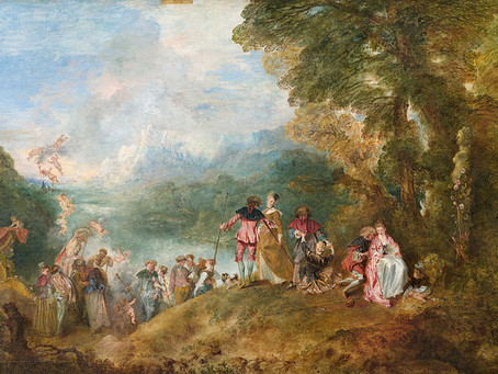 Podcast Episode 26: The Pilgrimage to Cythera by Jean-Antoine Watteau