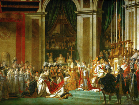 Podcast Episode 30: The Coronation of Napoleon by Jacques Louis David