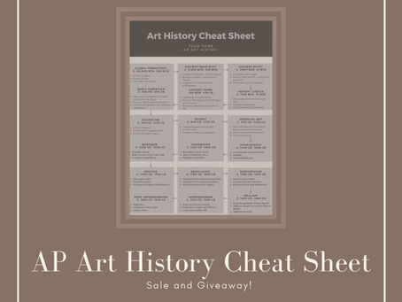 AP Art History Resource: The Cheat Sheet