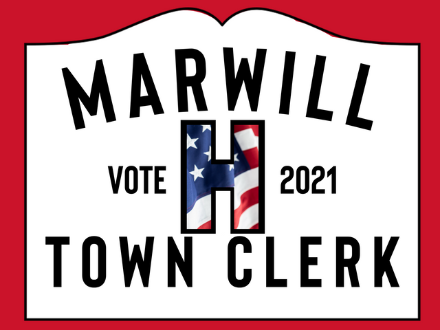 Marwill for Town Clerk
