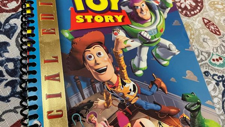 Toy Story VHS Cover Journal