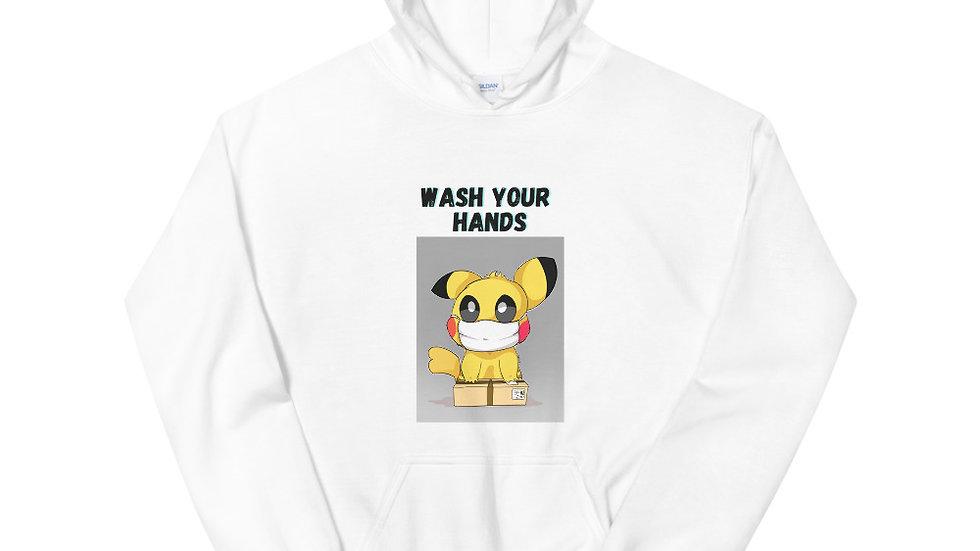 Wash Your Hands Unisex Hoodie