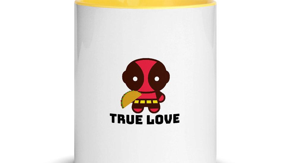 Deadpool True Love Mug with Color Inside
