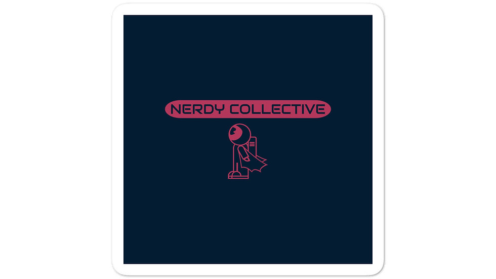 Nerdy Collective Bubble-free stickers