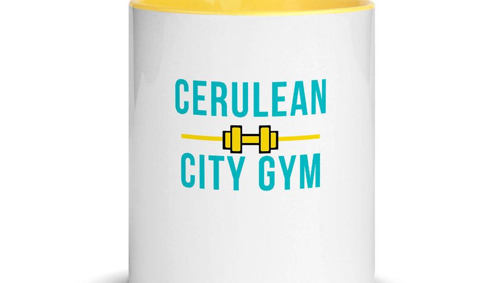 Cerulean City Gym Mug with Color Inside