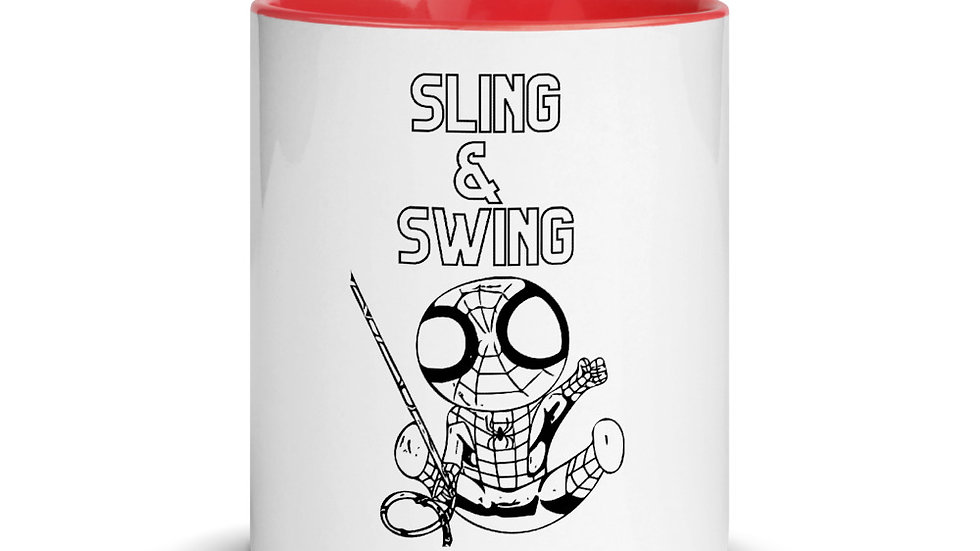 Sling n Swing Mug with Color Inside
