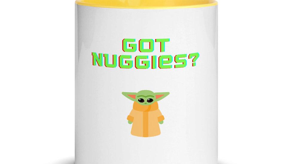 Got Nuggies? Mug with Color Inside