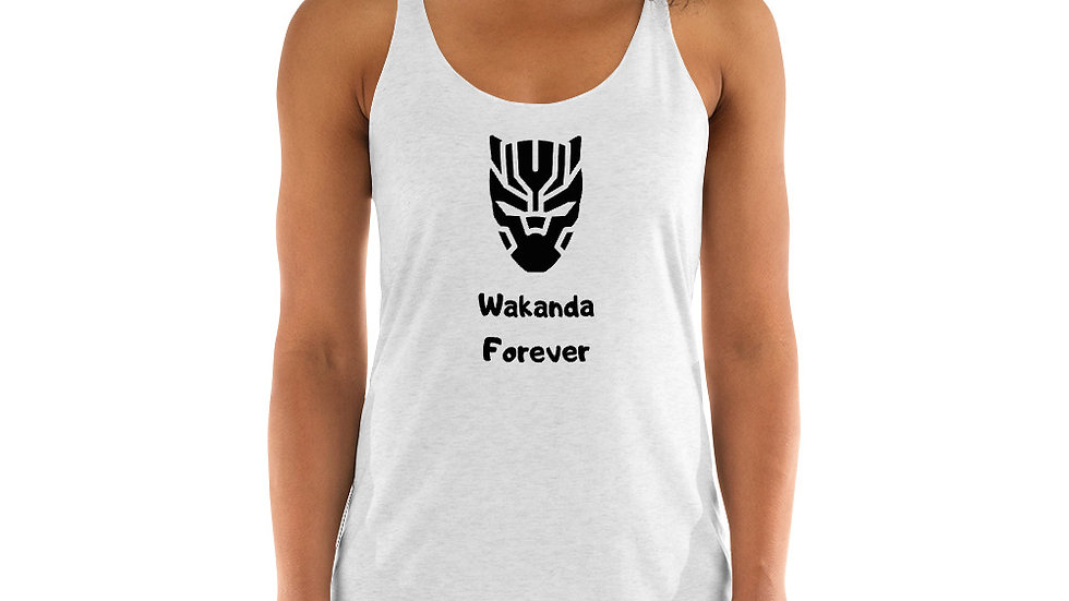 Wakanda Forever Women's Racerback Tank