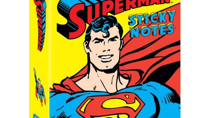 Superman Sticky Notes