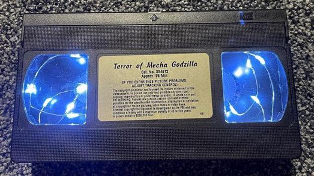 Terror of Mecha Godzilla VHS Nightlight