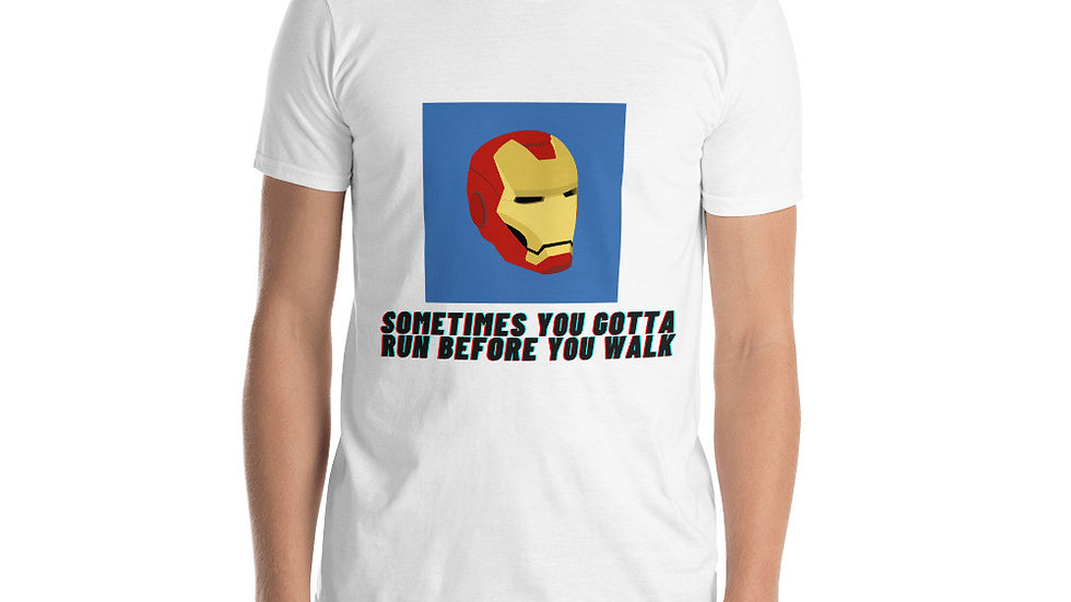 Iron Man Short-Sleeve Unisex T-Shirt