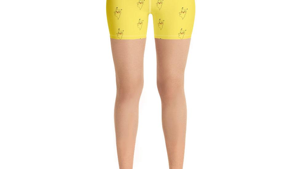 Electric Buddy Yoga Shorts