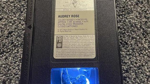 Audrey Rose VHS Nightlight