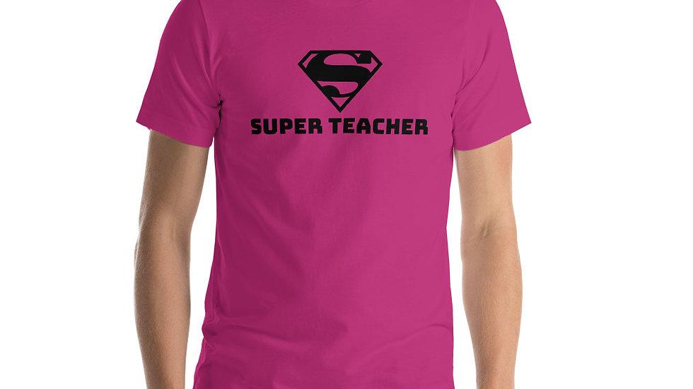 Super Teacher Short-Sleeve Unisex T-Shirt