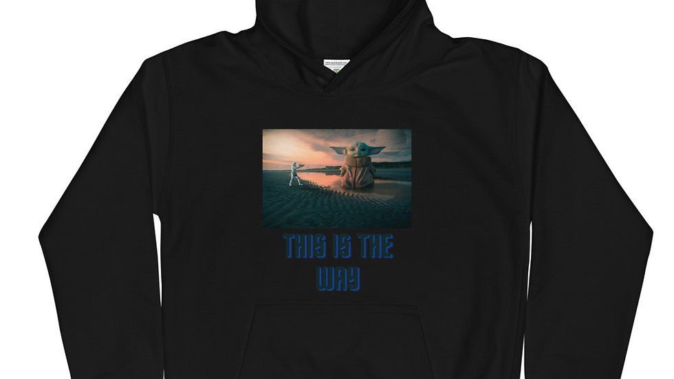 The Child This is the Way Kids Hoodie