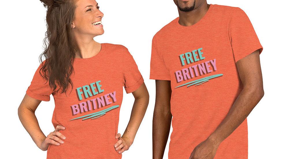 Free Britney Short-Sleeve Unisex T-Shirt