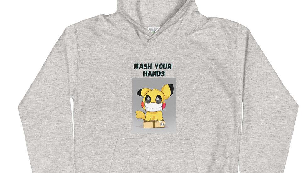 Wash Your Hands Kids Hoodie