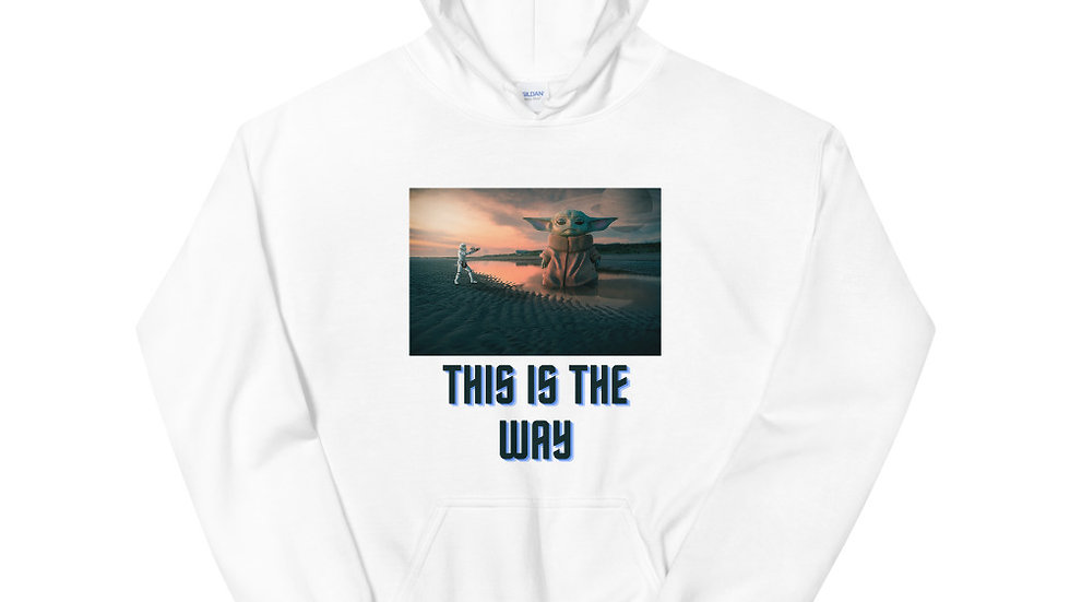 The Child This is the Way Unisex Hoodie