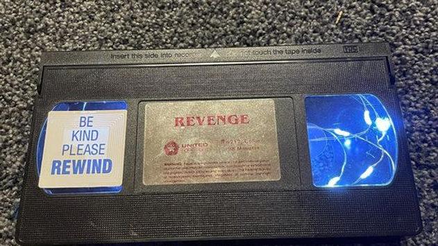 Revenge VHS Nightlight