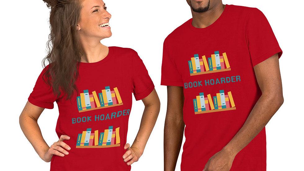 Book Hoarder Short-Sleeve Unisex T-Shirt