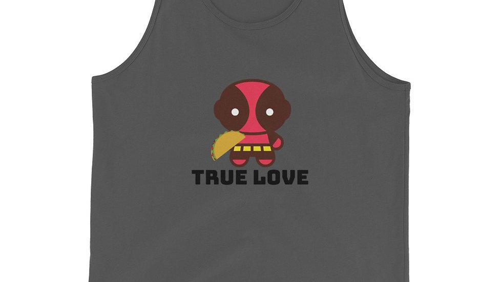 Deadpool True Love Unisex Tank Top