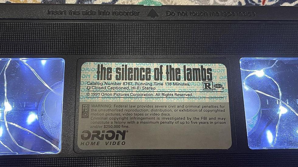 Silence of the Lambs VHS Nightlight
