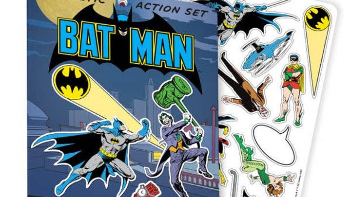 Batman Magnetic Playset