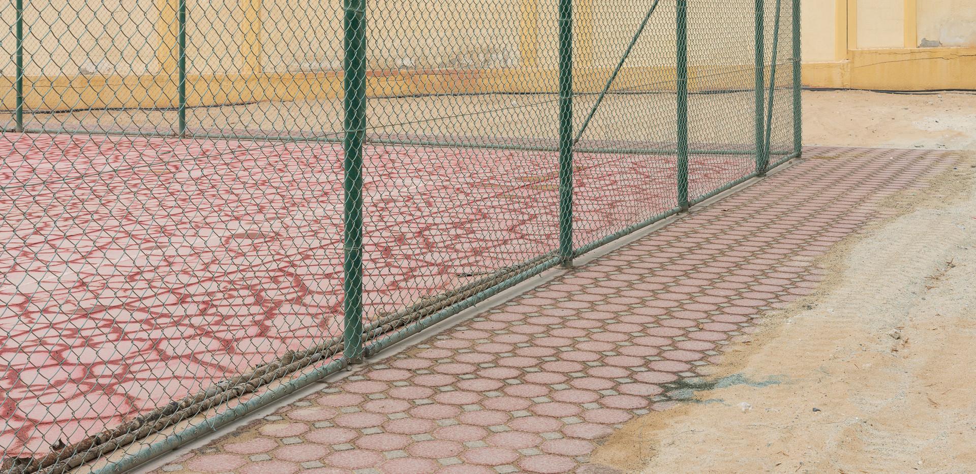 Sharjah clay court