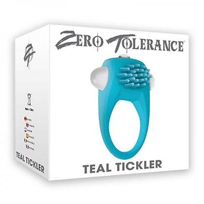 Anillo Vibrador - Teal Tickler Zero Tolerance
