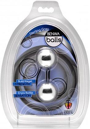 Bolas chinas - Trinity vibes benwa balls Sterling Gris