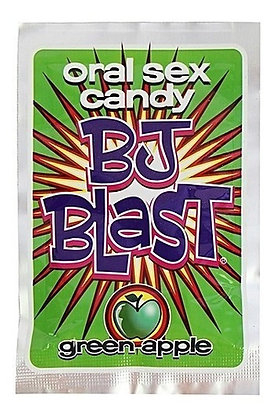 Caramelos Explosivos - BJ Blast Green Apple para Sexo Oral - Pipedream