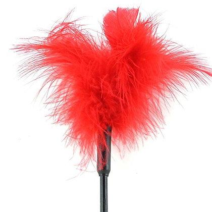 Plumas de Sex and Mischief S&M - Feather Tickler 7'' - Red