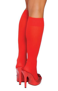 Medias hasta la rodilla - Color ROJO - Be Wicked