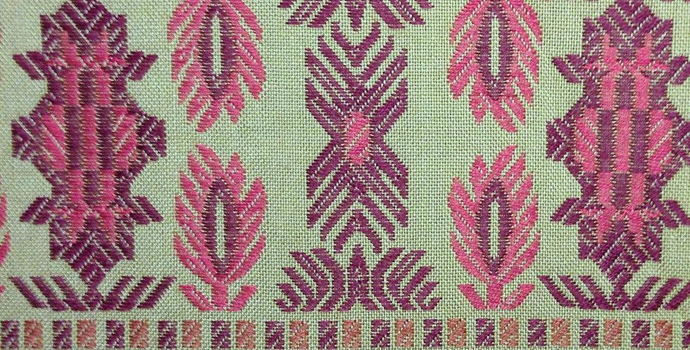SouthWest Upholstery Fabric - Raspberry Orange Green