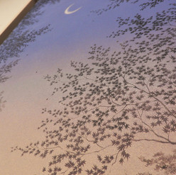 """Detail """"Imminence of twilight"""""""