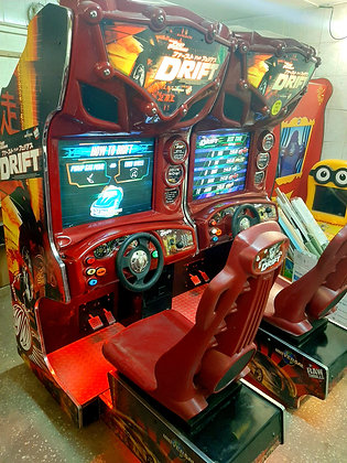 Копия The Fast and the Furious Drift Двойные автогонки