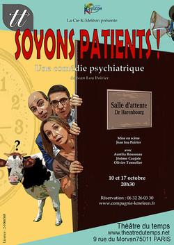 Affiche_Soyons_Patients_!_Cie_K-Méléon