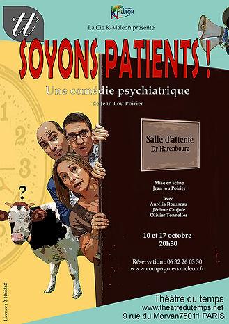 Affiche_Soyons_Patients_!_Cie_K-Méléon.j