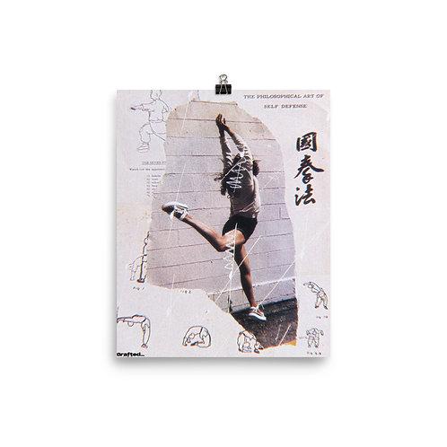 'Stances' 8x10 Inch Print