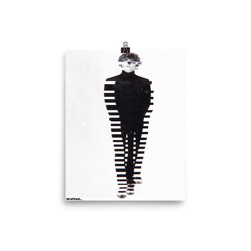 'Barcode' 8x10 Inch Print
