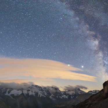 Milky Way of Berner Oberland