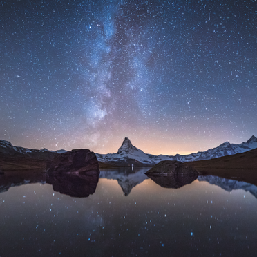 When The Milkyway Kisses The Matterhorn