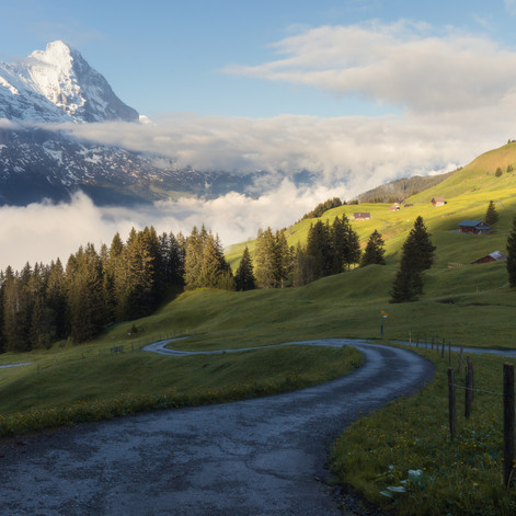 The way to the Eiger