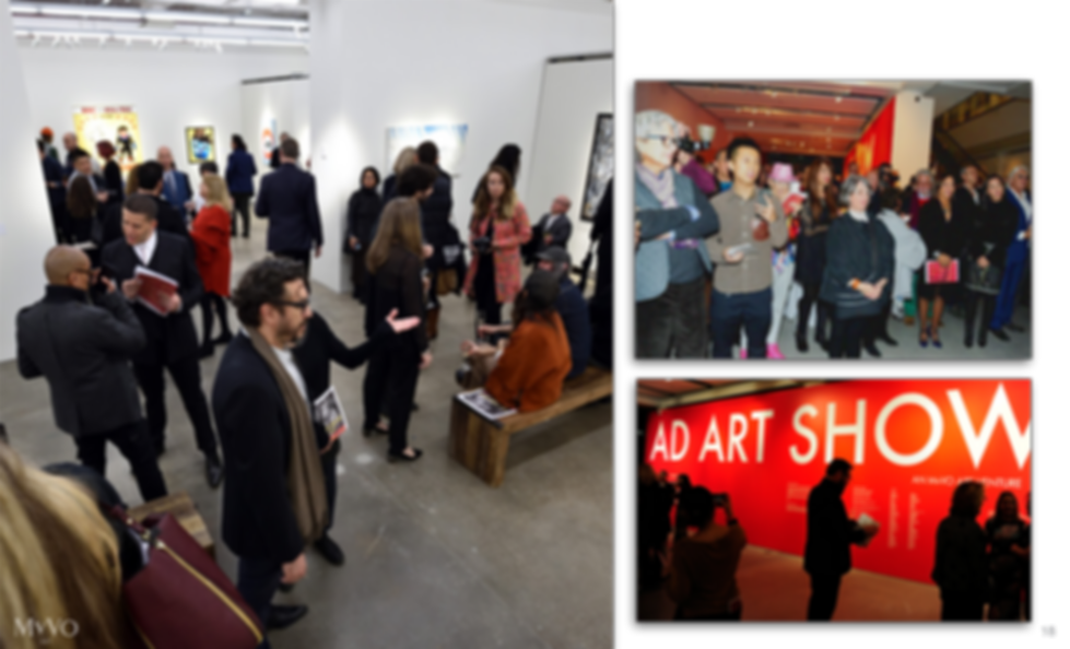 AD ART SHOW 2018 at Sotheby's in New York City